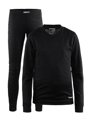 Термобелье CRAFT Baselayer Black JR в магазине Sport-Nordic.ru