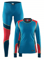 CRAFT Baselayer Typhoon/Poppy Wmn